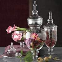10 Ideas for Decorating with Apothecary Jars