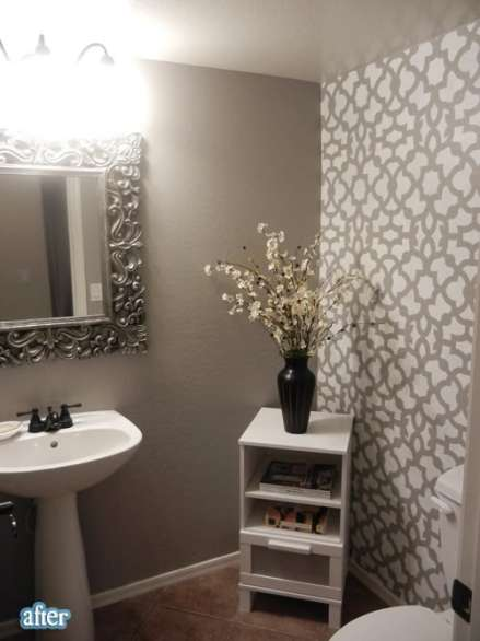 Inspiration Wednesday Patterned Accent Walls