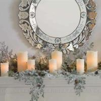 IW: 25 Mantles Decorated in Christmas Cheer