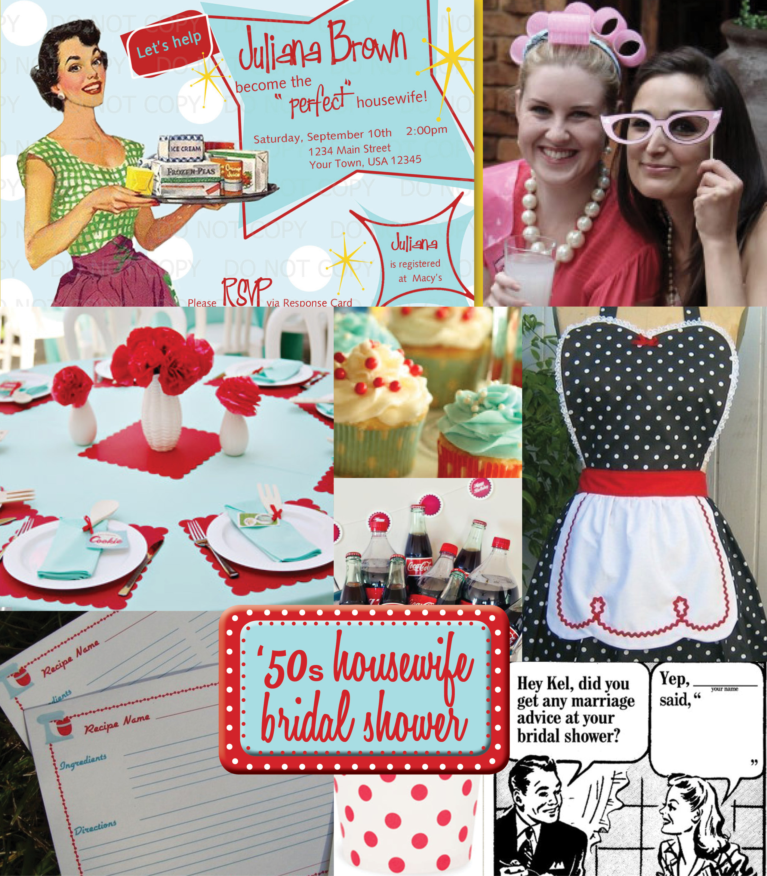 50sRetro.bridalshowertheme