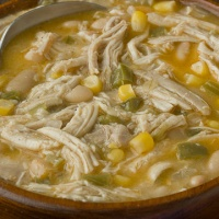 Disappearing Crock Pot White Chicken Chili