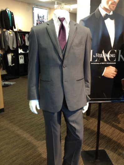 Tux from Men's Warehouse