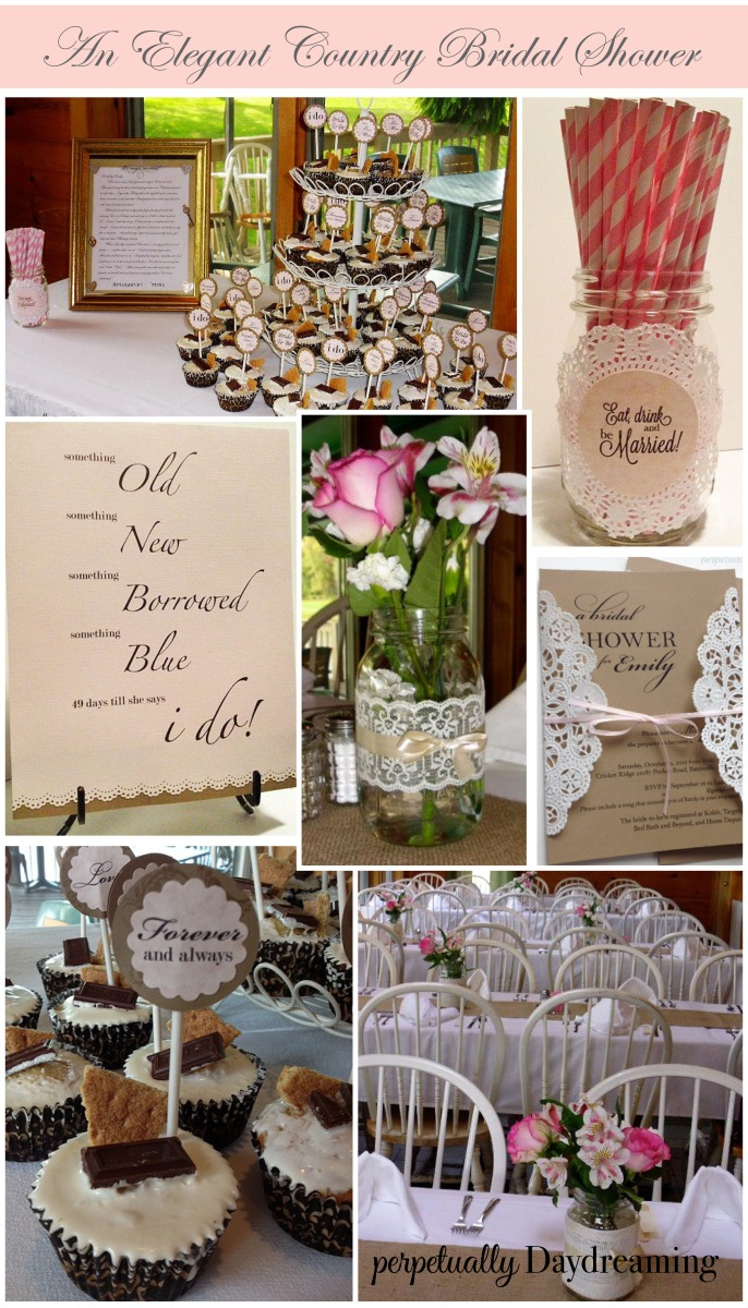 The Elegant Country Bridal Shower