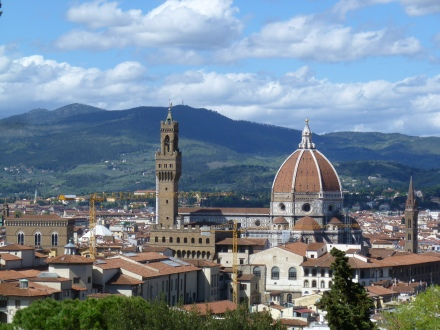 View of Florence from the Bardini Gardens