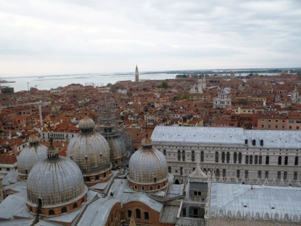 View from top of St. Mark's Campanile
