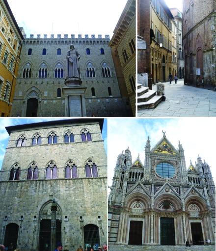 Piazza Salimbeni, Streets, Oldest Bank, Siena Cathedral