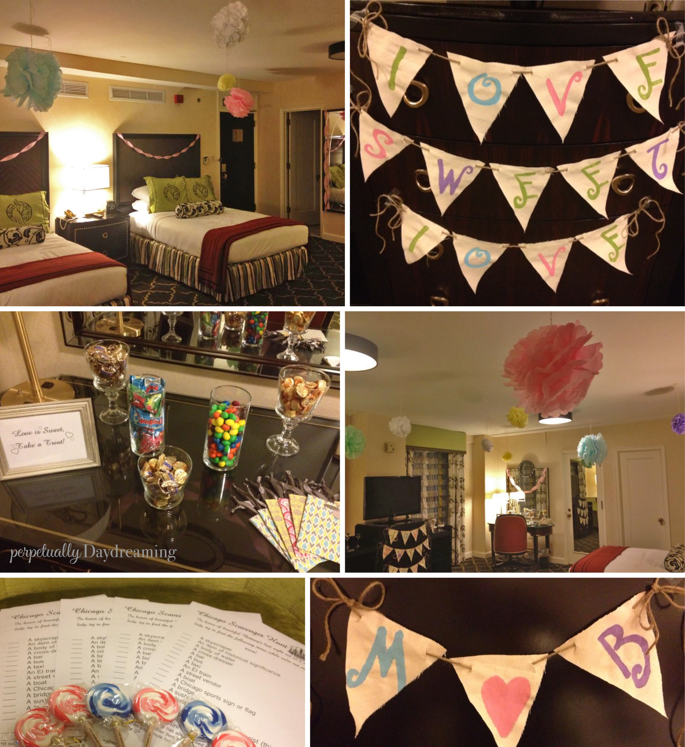 A chicago bachelorette party fit for a queen for Bachelor party decoration ideas