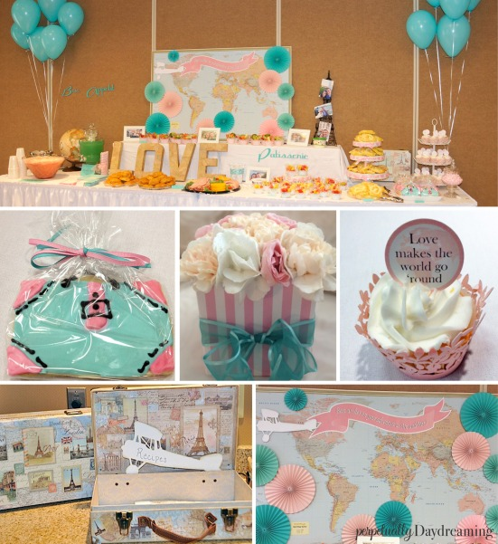 Travel Bridal Shower