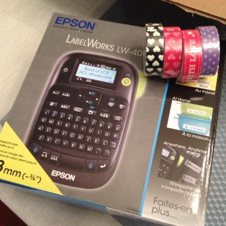 Epson Label Maker