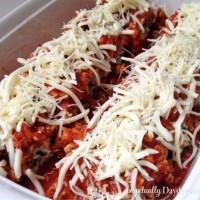 Skinny Turkey Lasagna Rolls